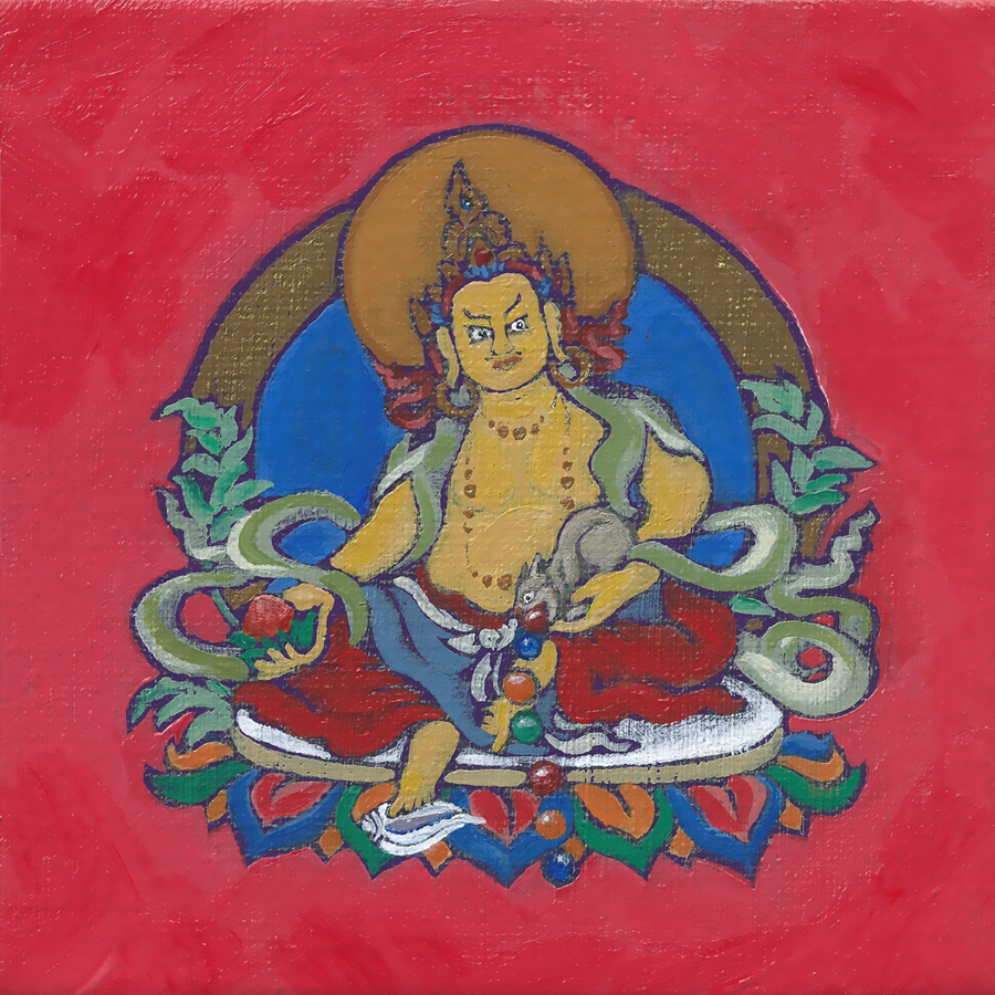 Dzambala the Wealth Buddha