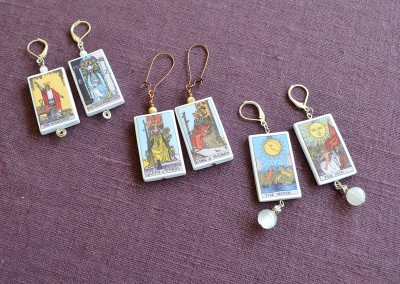 Tarot Card earrings