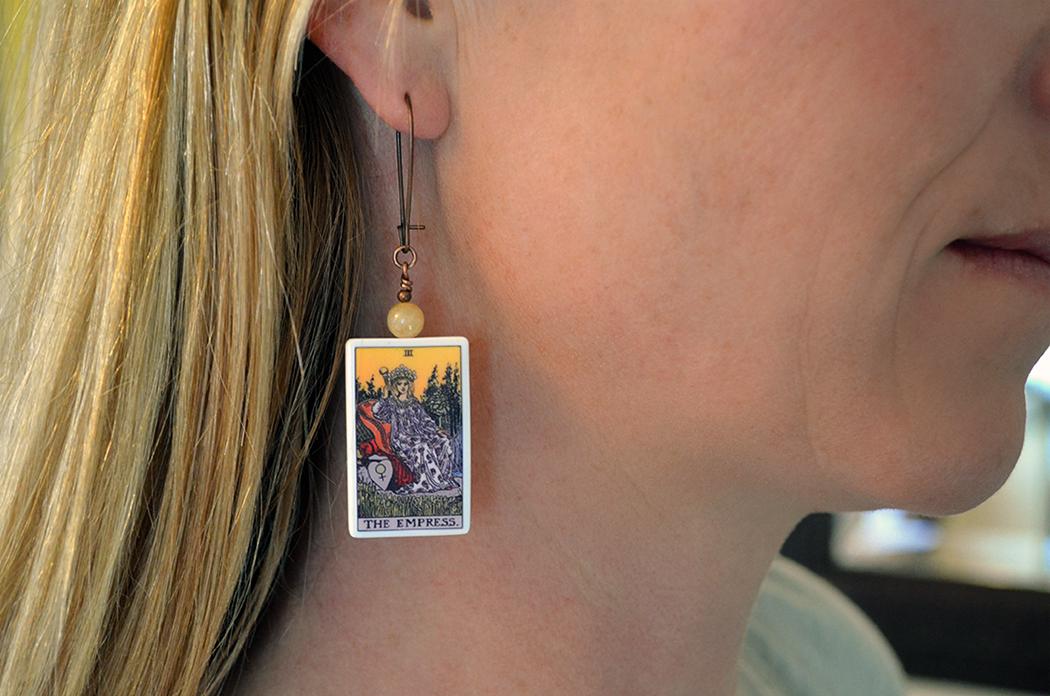 Tarot earrings