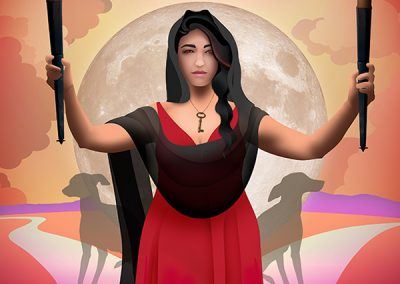Hecate, Goddess of the Crossroads